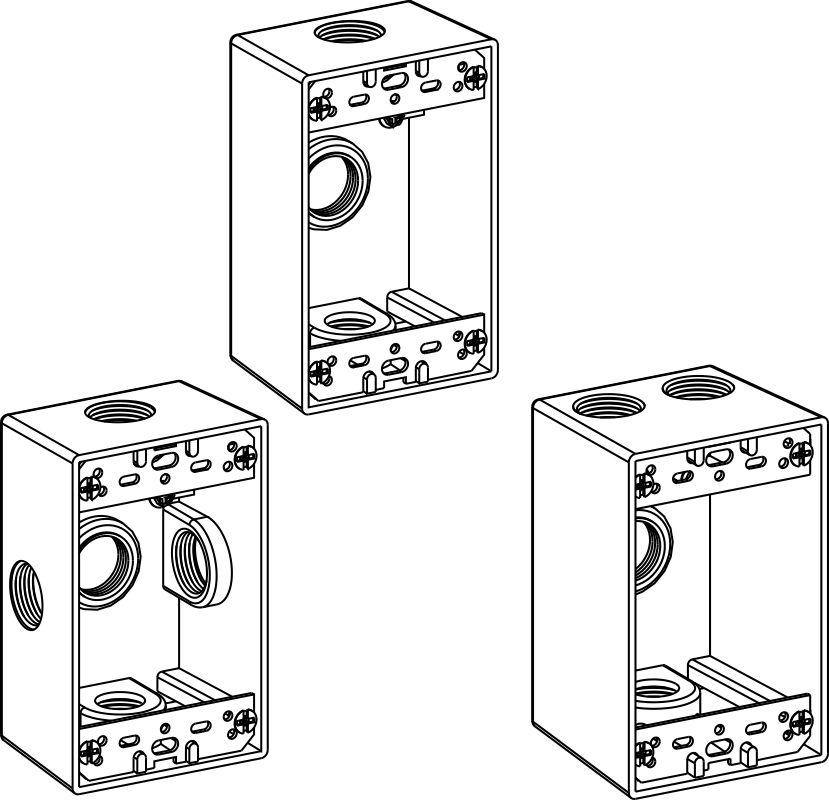 1-Gang Boxes