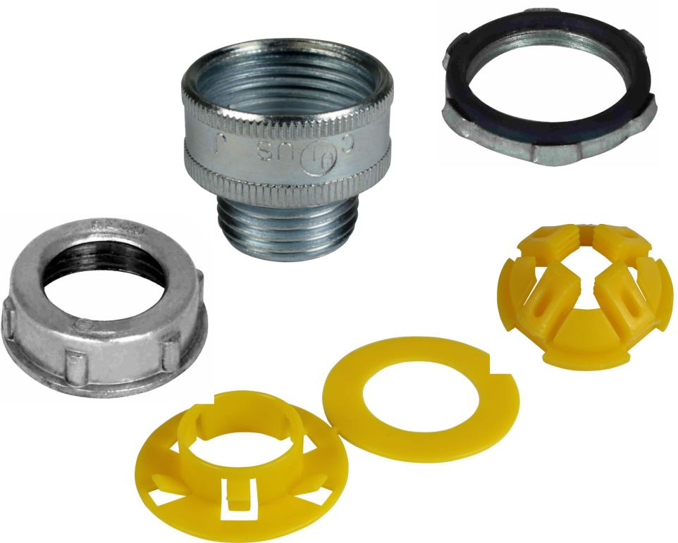 Bushings, Washers and Locknuts