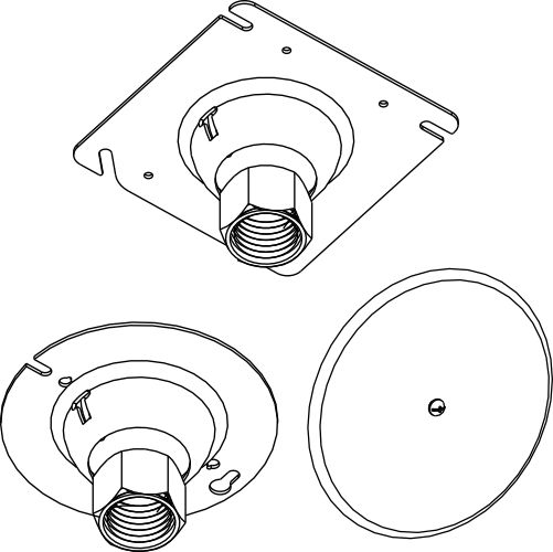 cover plates - electrical box covers and rings