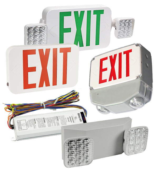 Exits Signs & Emergency Lights