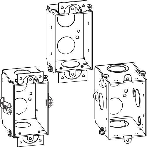 Gangable Switch Boxes