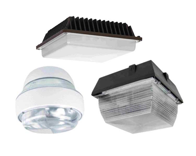 LED Canopy Lights