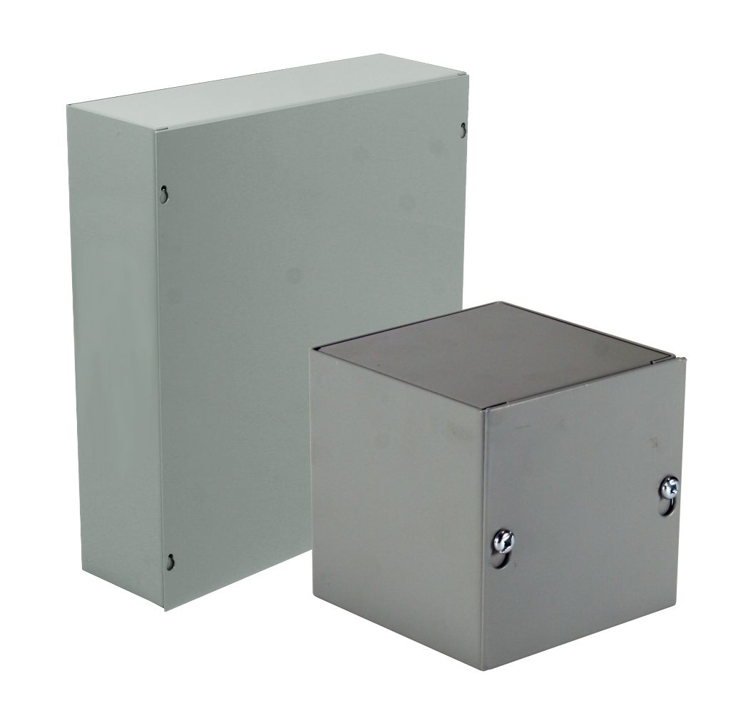 NEMA Type 1 Screw Cover Enclosure (Without K.O.)