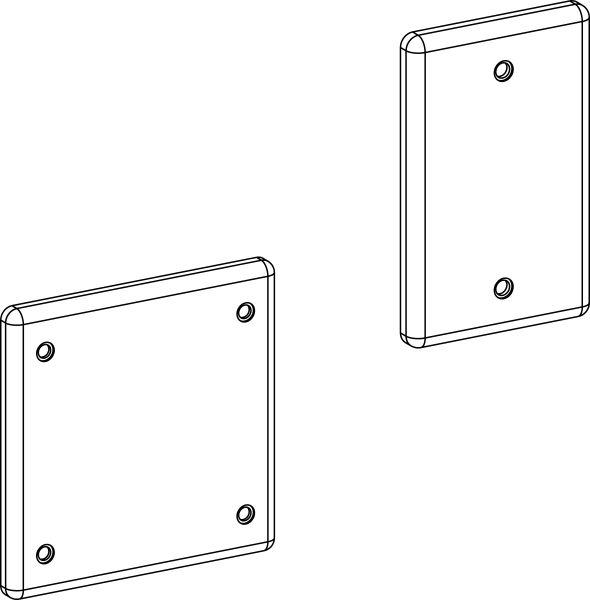 Plastic Modifiable Box Cover