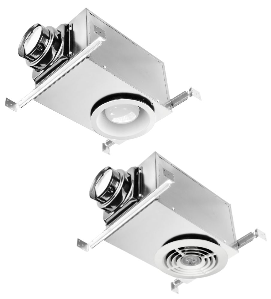Recessed fan light democraciaejustica deluxe recessed series individual fans ventilation fans aloadofball Choice Image