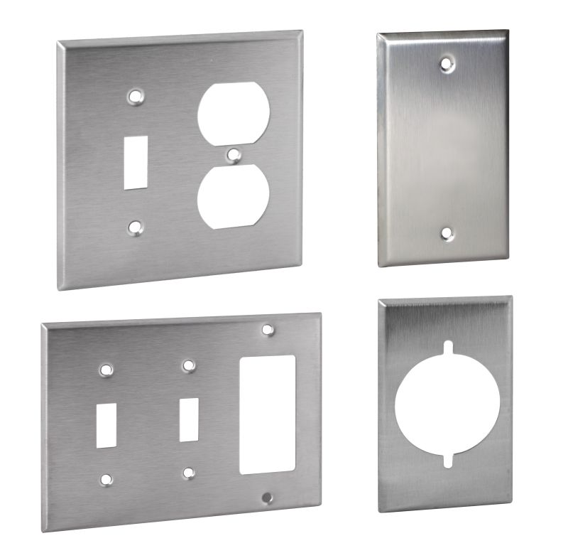 Stainless Steel Wallplates Wallplates Wiring Devices