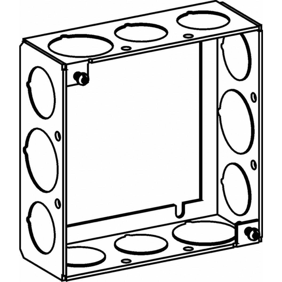 4sb-50  75-ext - 4 u201d  4s  boxes