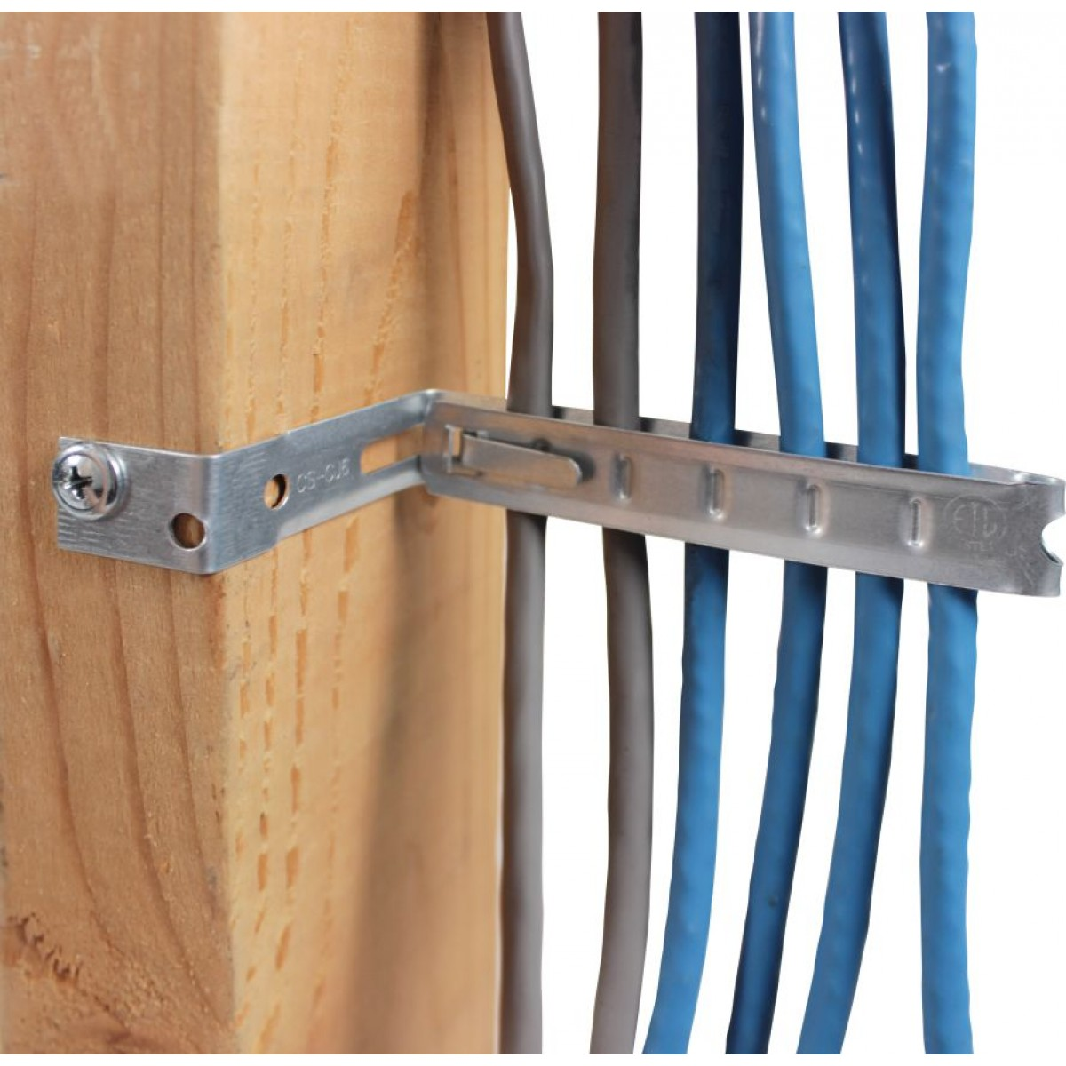 Electrical Cord Hangers: STUD MOUNTING CABLE SUPPORT