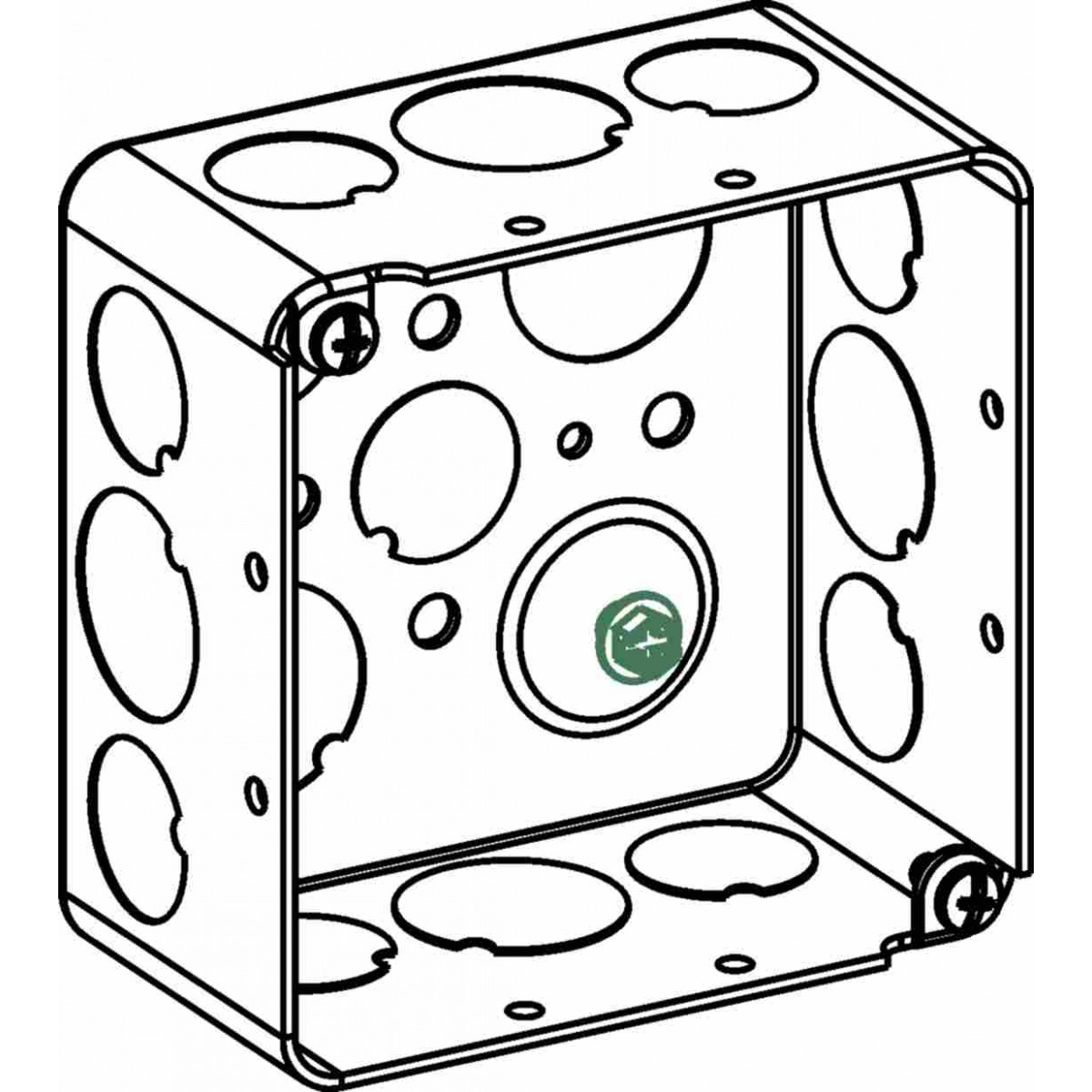 4 1 2 square junction box