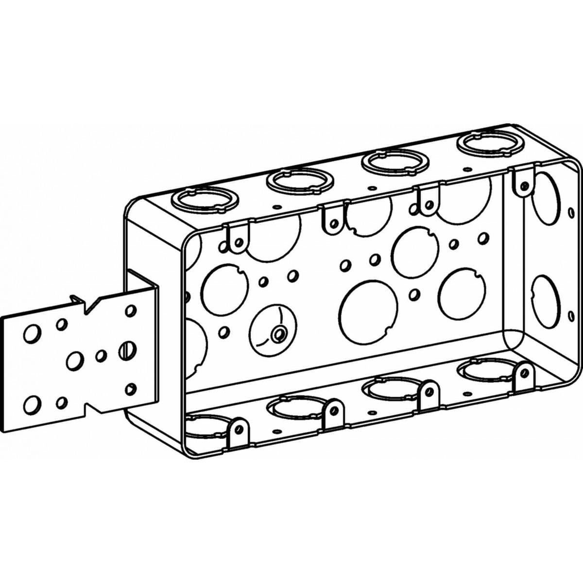dhb-4-b - multigang boxes