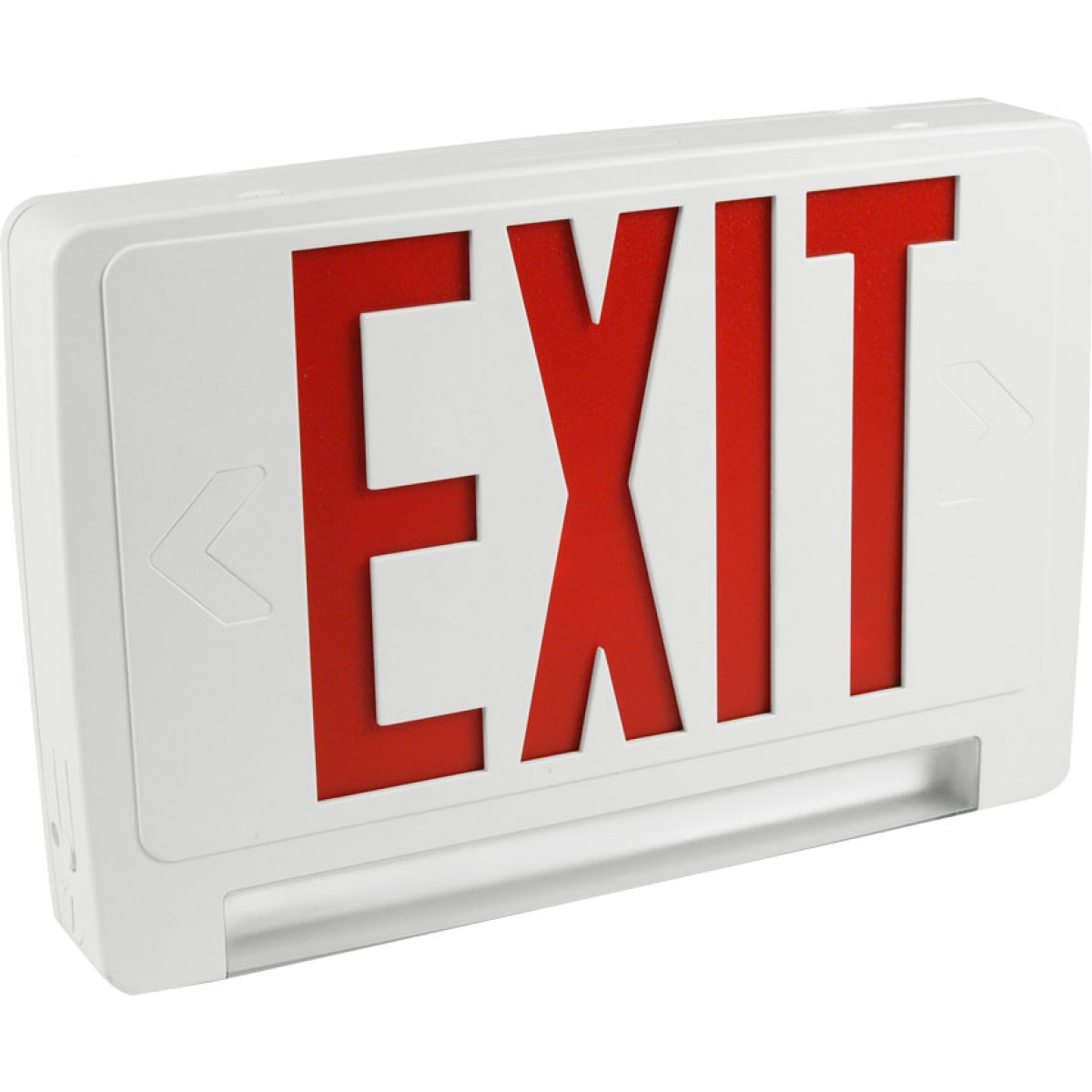 eeclp led exit sign emergency light combo exit. Black Bedroom Furniture Sets. Home Design Ideas