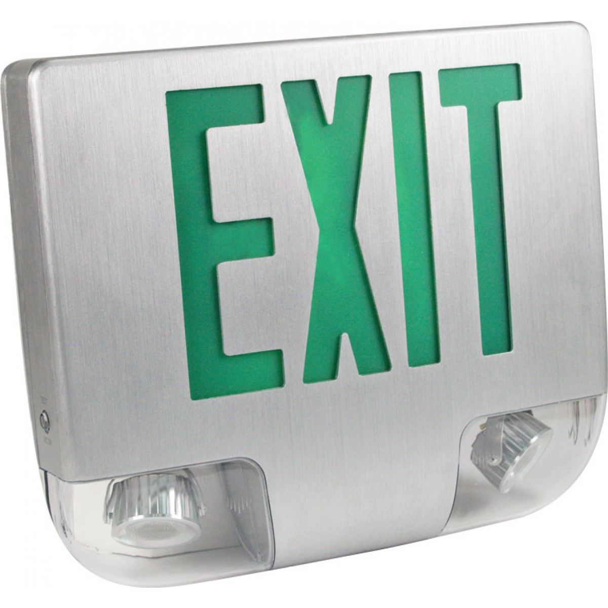 Eesla Led Exit Sign Amp Emergency Light Combo Exit