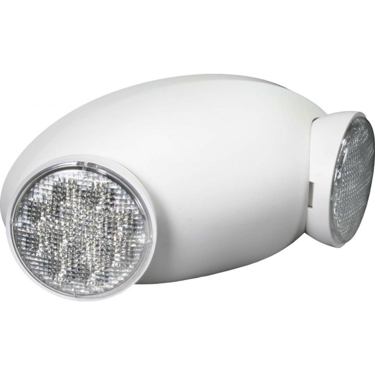 Safety Light Fixtures : El hm led emergency lights exit lighting