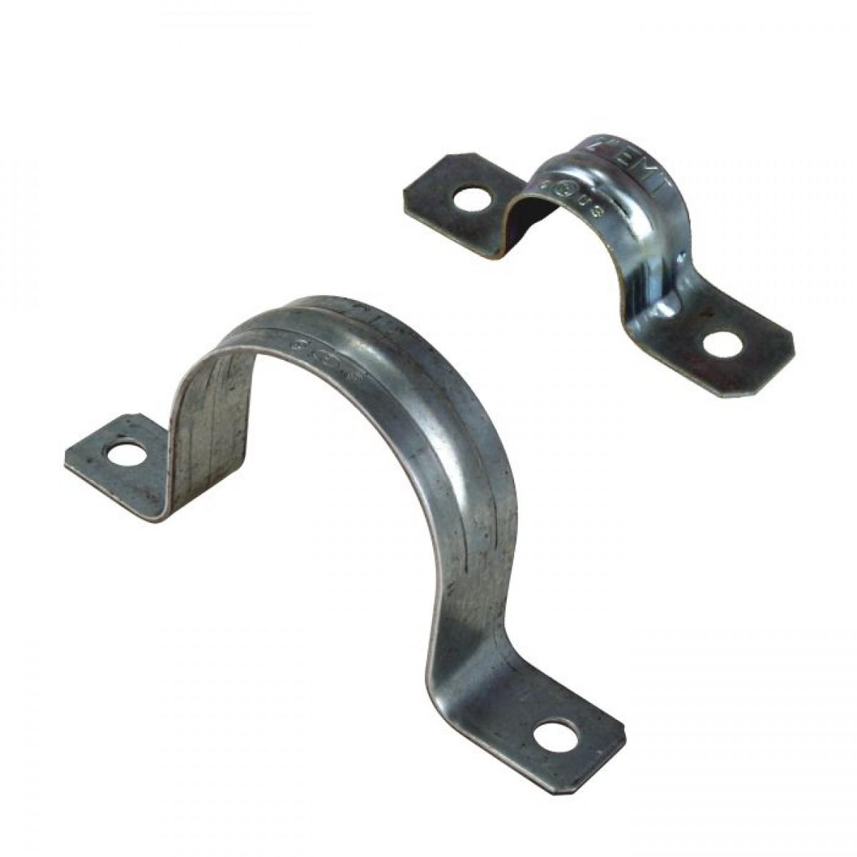 Emt straps hole conduit supports clamps