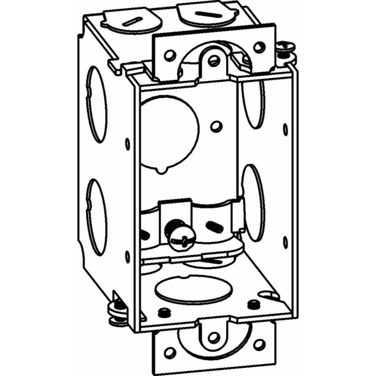 gb-1-nm - gangable switch boxes - electrical junction boxes