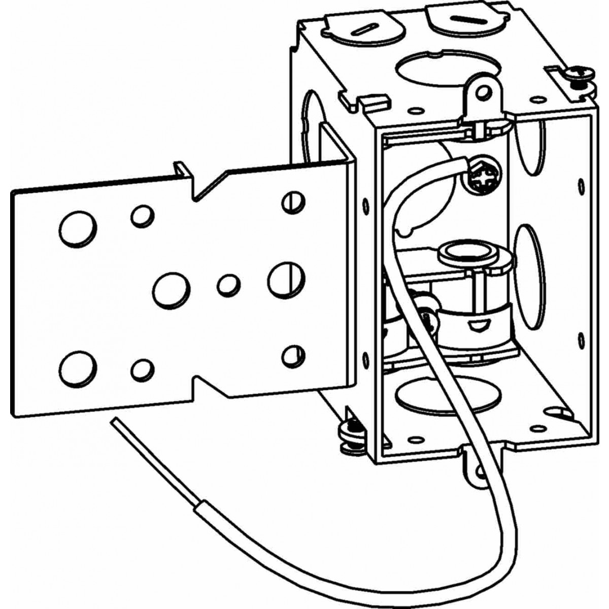 gmb-1-mc-b - gangable switch boxes