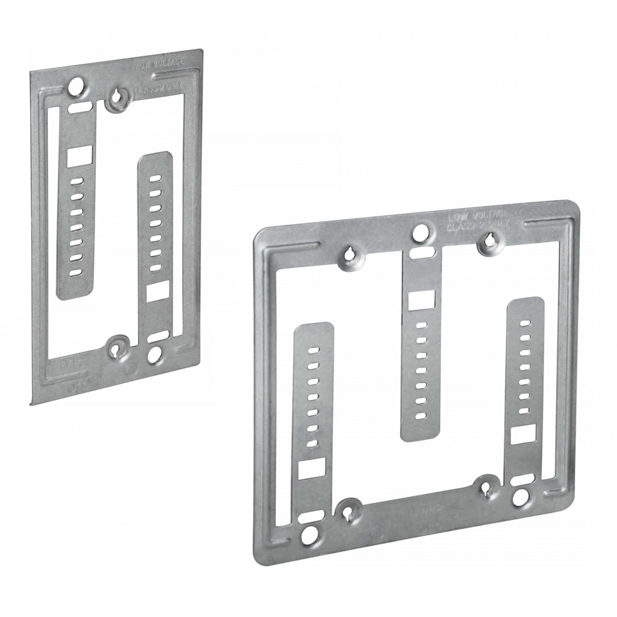 Electrical Conduit Mounting Plate Wiring Diagram And Ebooks Fuse Box Clamps Low Voltage Wall Plates Supports Straps Rh Orbitelectric Com Frame