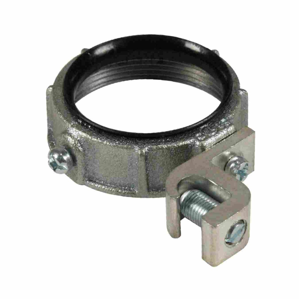 Malleable ground bushings insulated w universal lay in lug