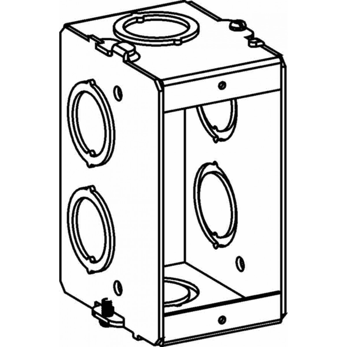 msbg-1 - masonry boxes - electrical junction boxes