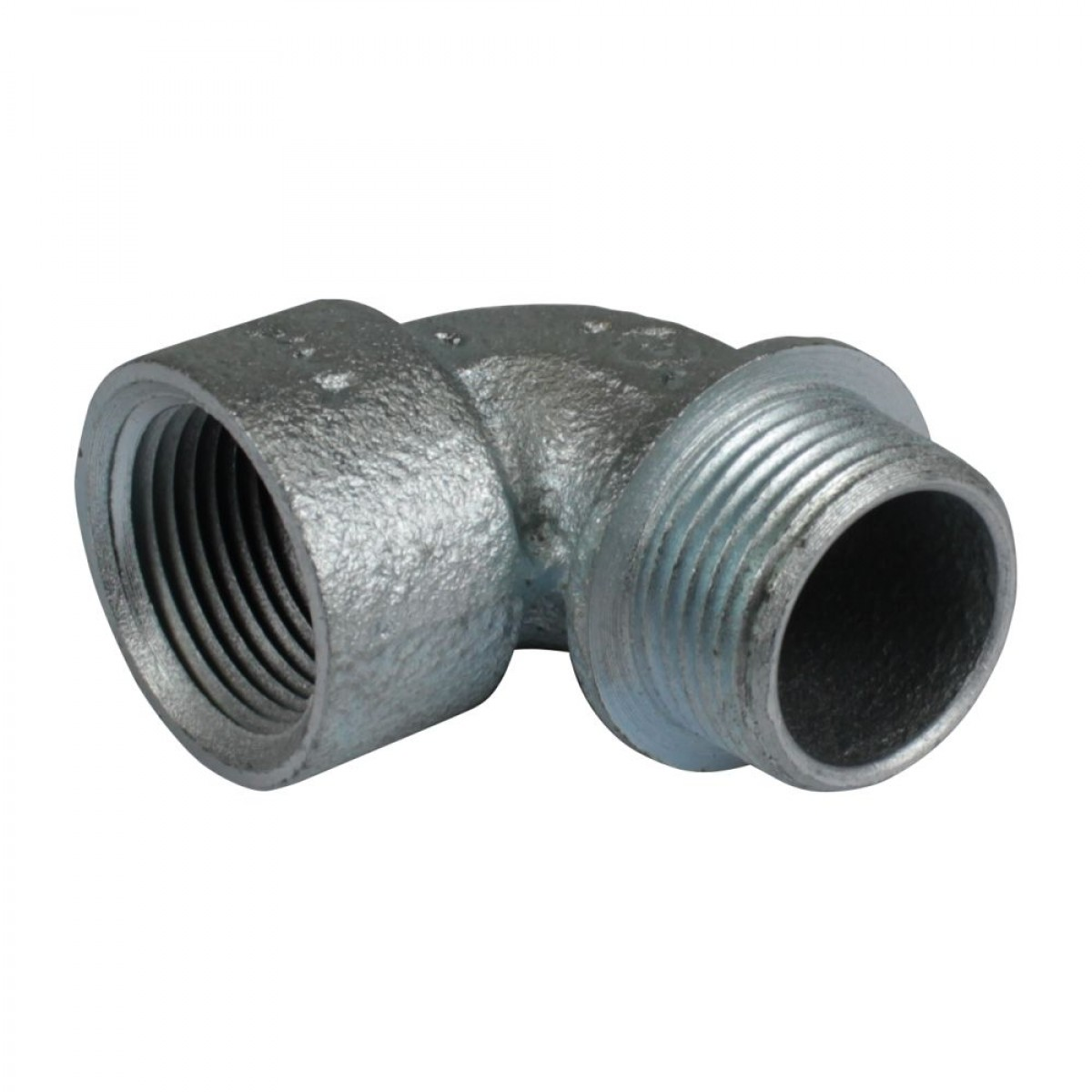 Malleable iron ° angle threaded short elbows rigid
