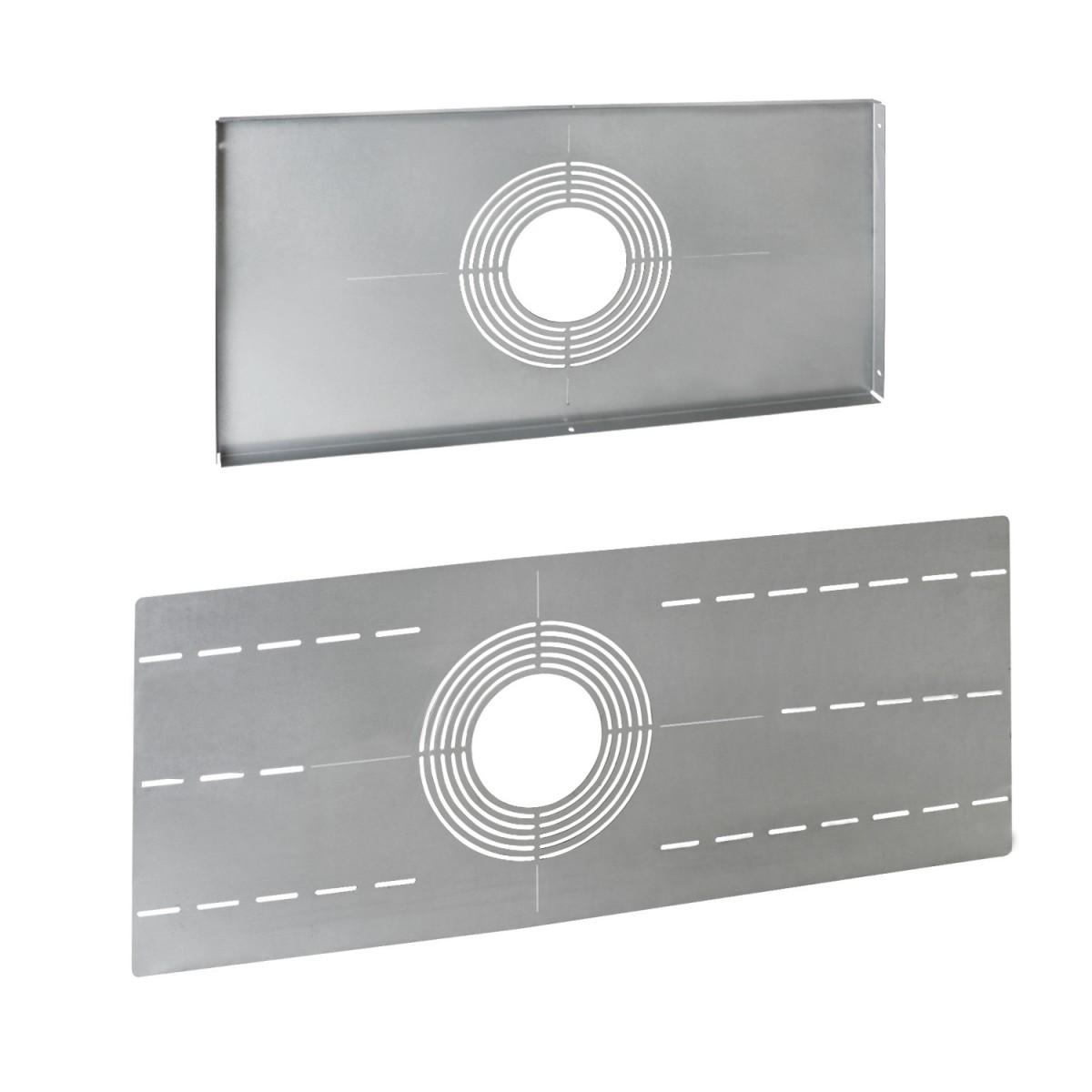 recessed light adapter plates