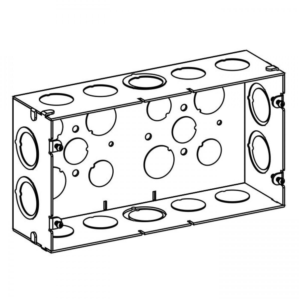 sdb-3 - multigang boxes
