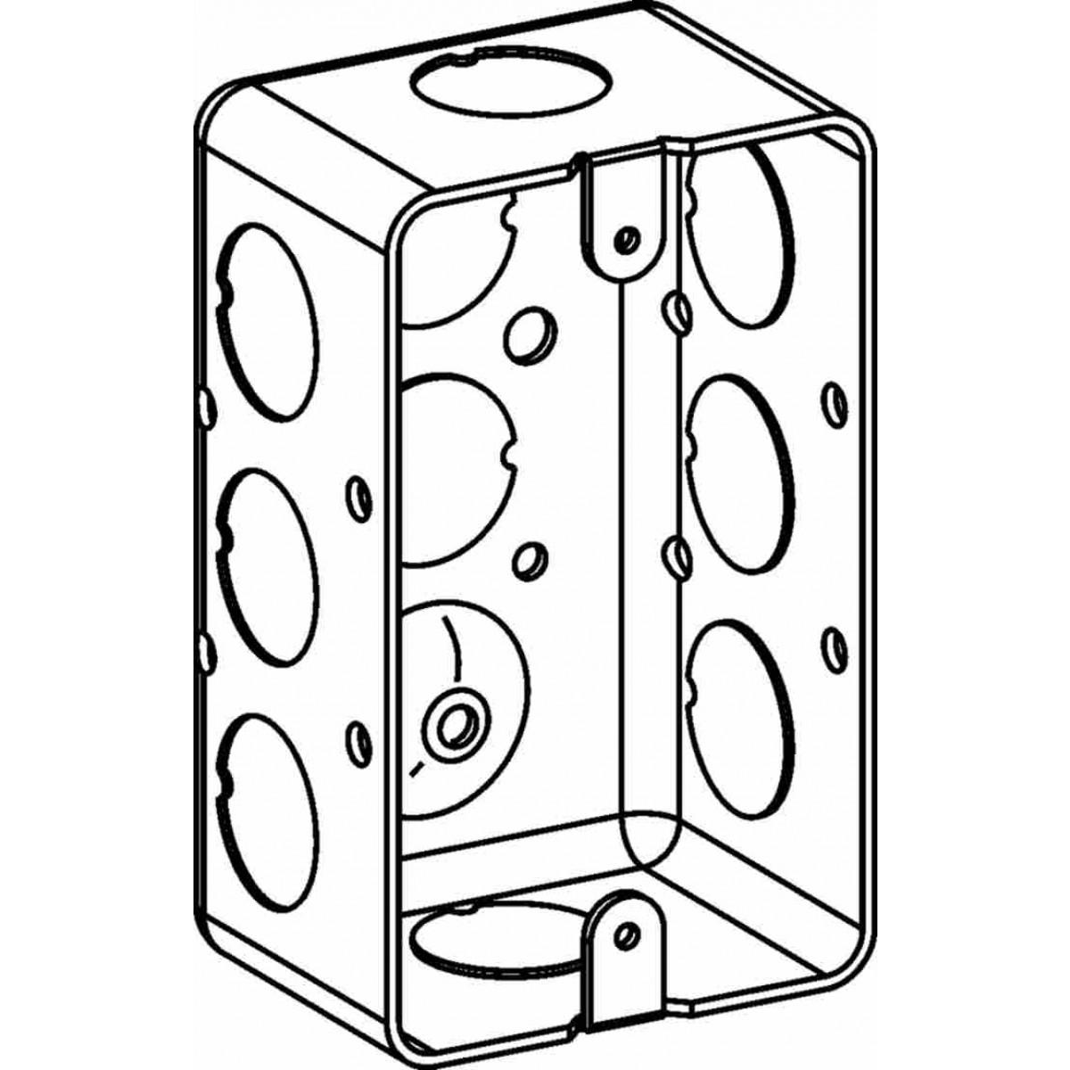 cantex pvc type fsc outlet box  u2013 cableorganizer