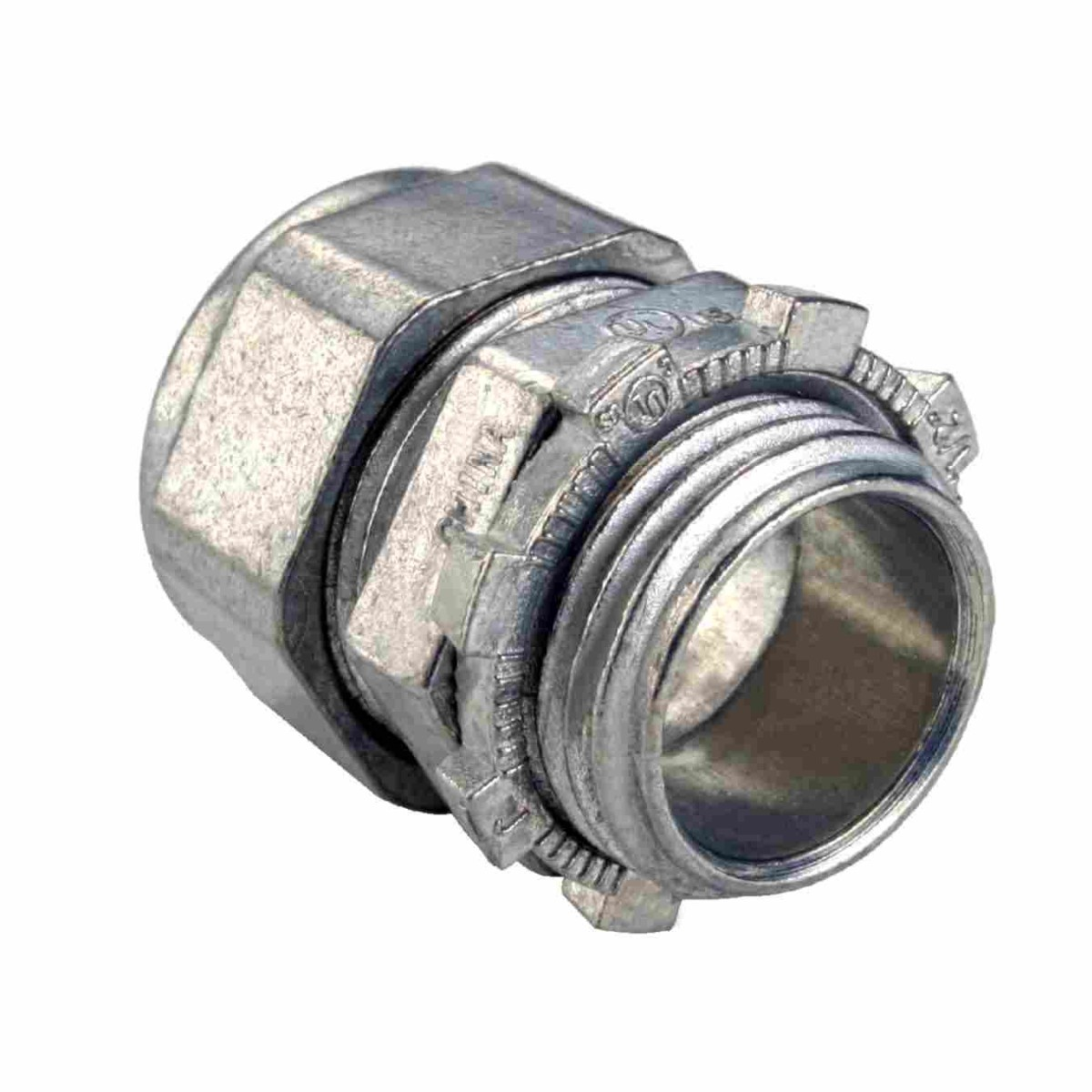 Zinc die cast emt connectors compression type