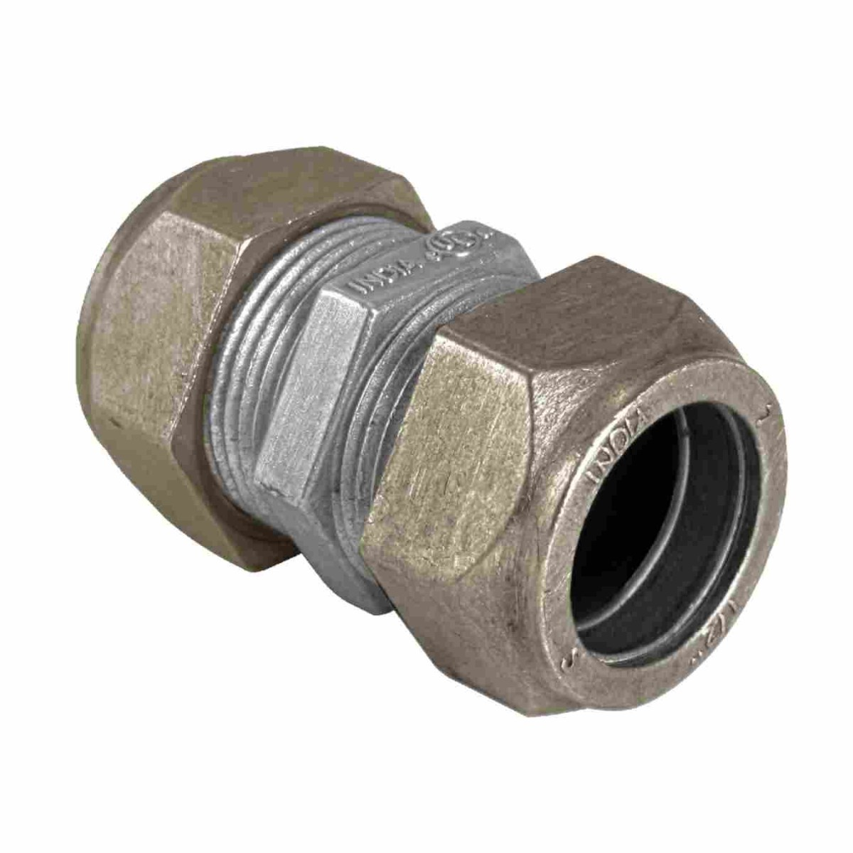zinc die cast emt couplings compression type rain tight emt fittings electrical fittings