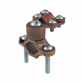 BRONZE GROUND CLAMPS WITH ADAPTER