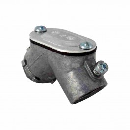 EMT TO BOX PULL ELBOWS SET-SCREW TYPE WITH GASKET