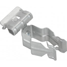 CONDUIT TO FLANGE CLIPS SIDE MOUNT PUSH IN