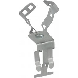 CONDUIT TO T-GRID CLIPS TOP MOUNT SNAP CLOSE