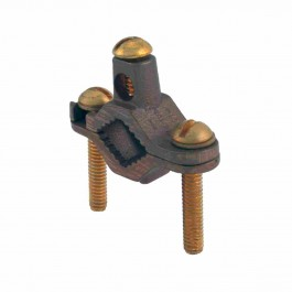 HEAVY DUTY BRONZE DIRECT BURIAL FOR REBAR GROUND CLAMP
