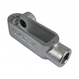 "GRAY IRON FORM 8 THREADED CONDUIT BODIES ""LL"""