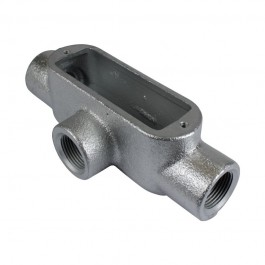 "GRAY IRON FORM 8 THREADED CONDUIT BODIES ""T"""