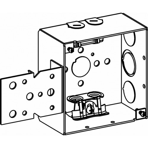 4sdb-mc-b - 4 u201d  4s  boxes - electrical junction boxes