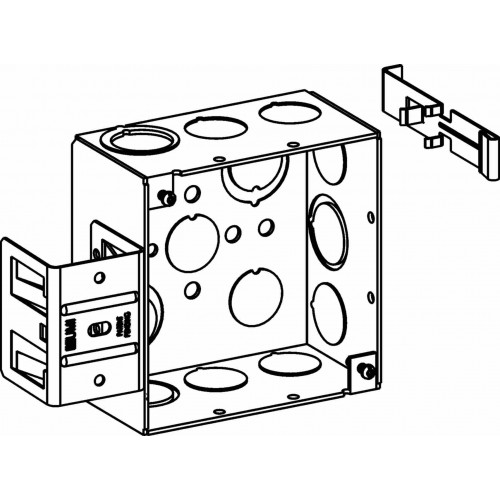 4sdb-mko-ms - 4 u201d  4s  boxes - electrical junction boxes