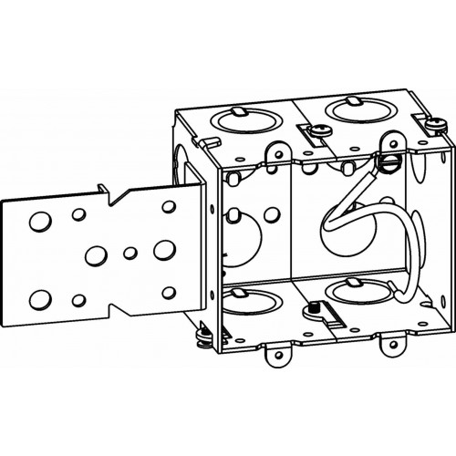 gmb-2-b - gangable switch boxes - electrical junction boxes