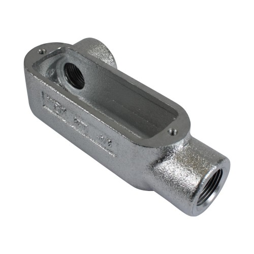 Gray iron form threaded conduit bodies quot ll series