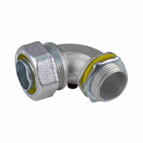 Malleable iron liquid tight connectors angle