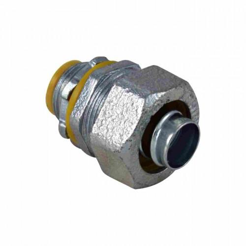 Malleable iron liquid tight conn straight insulated