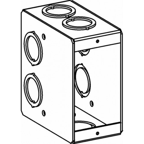 mb-1 - masonry boxes - electrical junction boxes