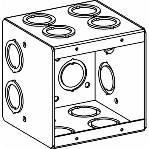 mb-2 - masonry boxes - electrical junction boxes