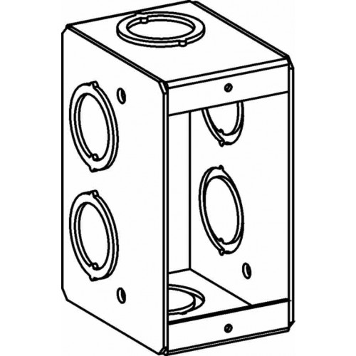 msb-1 - masonry boxes - electrical junction boxes