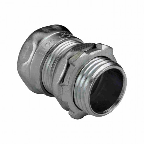 steel emt connectors compression type emt fittings electrical fittings