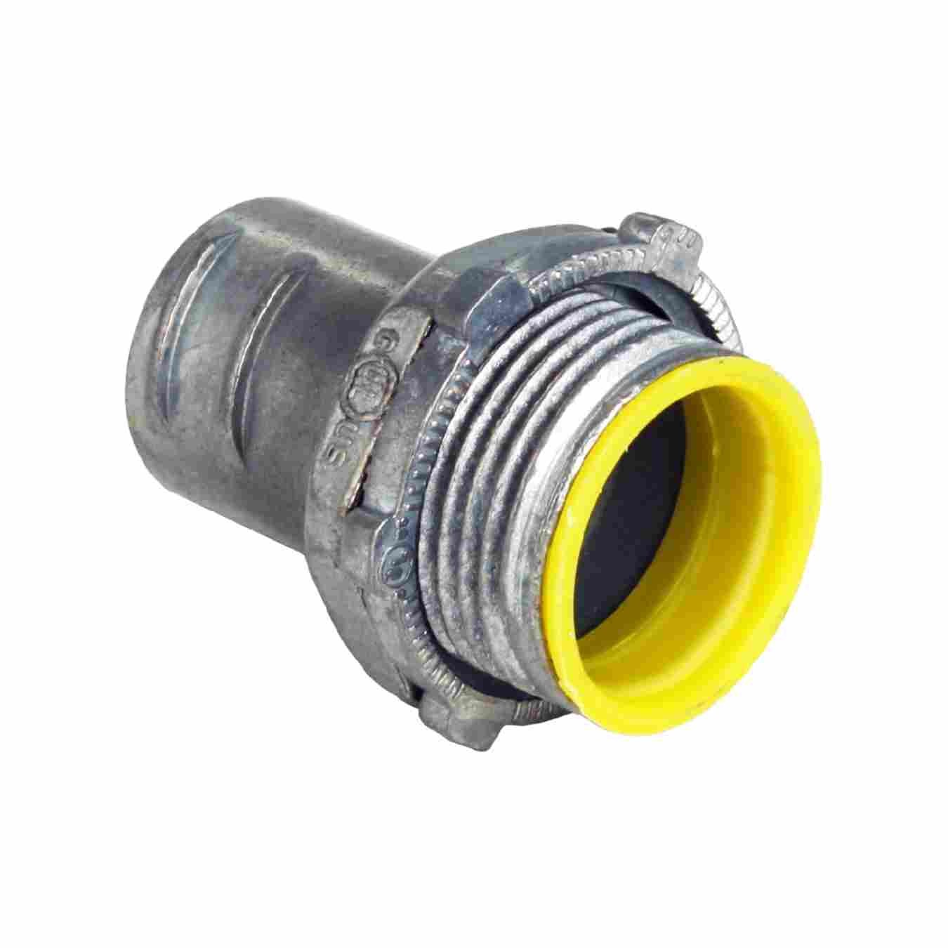 FLEX CONNECTORS SCREW-IN TYPE WITH INSULATED THROAT