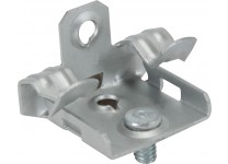 HAMMER ON FLANGE CLIPS BOTTOM MOUNT WITH STUD