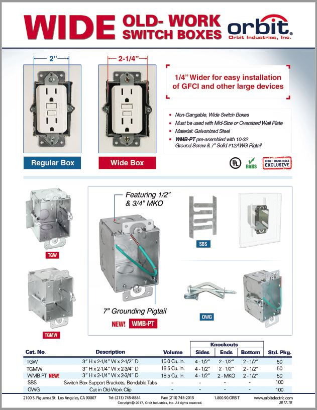 Wide Switch Boxes Flyer
