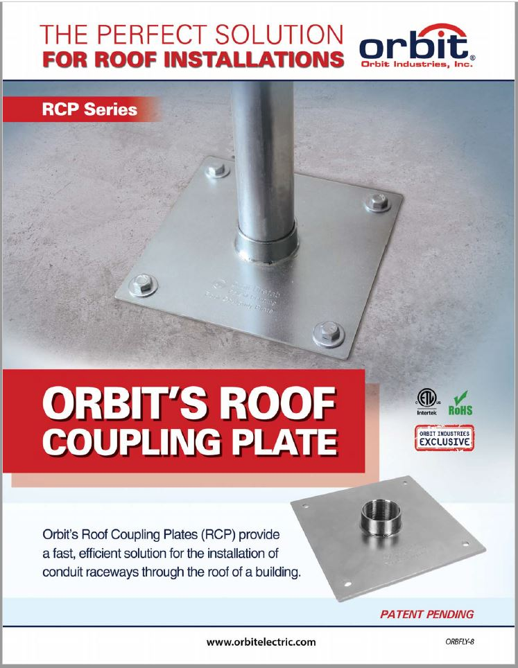 Roof Coupling Plate